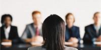 entrevista de trabajo en grupo